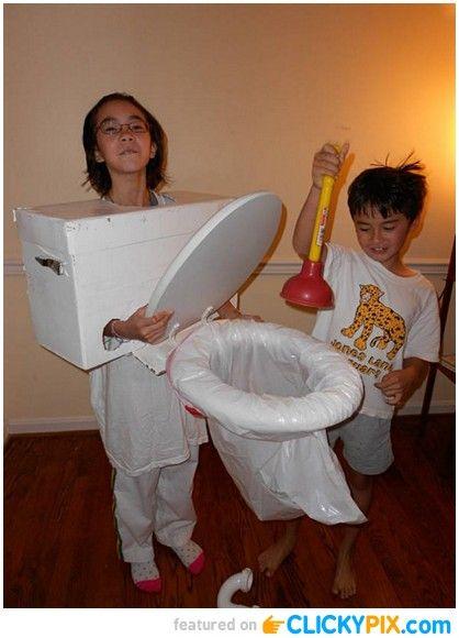 24 Homemade Kid Halloween Costumes