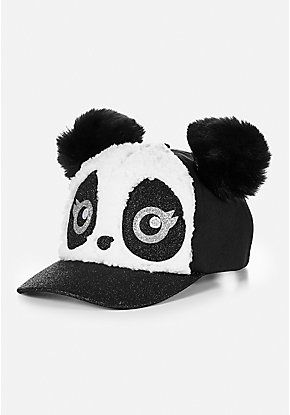 6c5052b87abc5f Panda Pompom Baseball Cap | Justice new do | Justice accessories, Justice  clothing y Justice toys