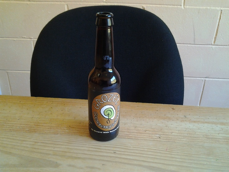 """The Grozet """"Auld Scots for Gooseberry"""" was quite a pleasure to consume as the label suggested."""