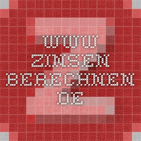 www.zinsen-berechnen.de