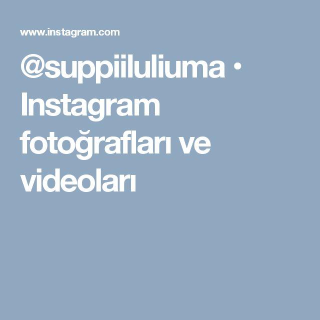 @suppiiluliuma • Instagram fotoğrafları ve videoları