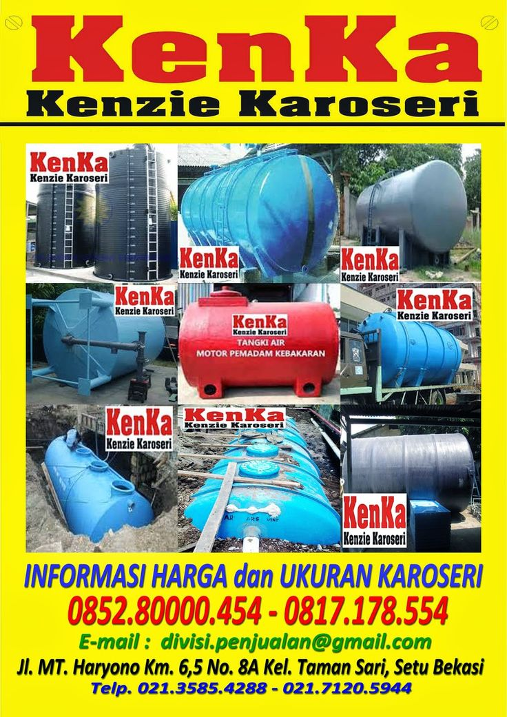KAROSERI TRUCK TANGKI FIBER >> KAROSERI KENKA