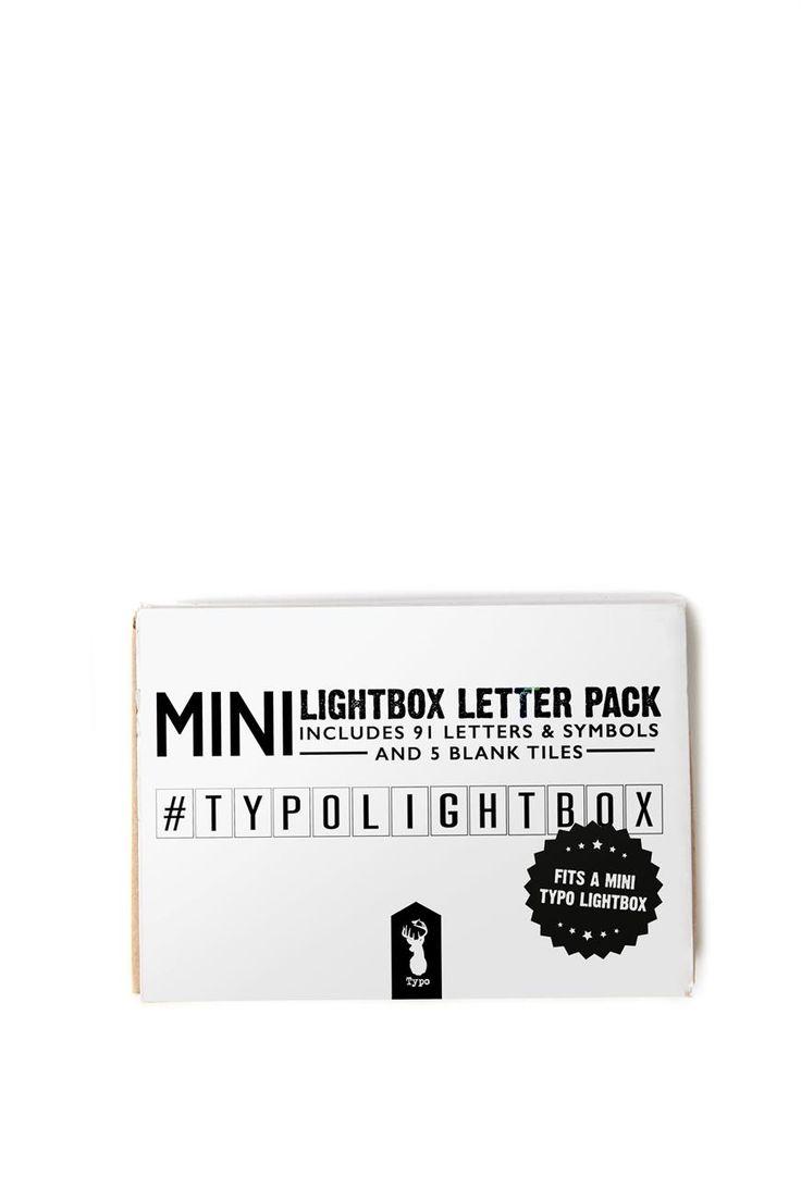 Mini Light Box Letter Pack $12.49