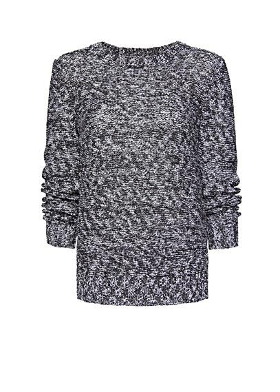 MANGO - Back slit jumper