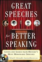 American Rhetoric is a site which helps students improve their speaking using speeches from movies.