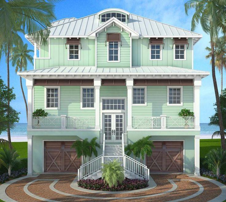 42 best coastal house plans images on pinterest | coastal house