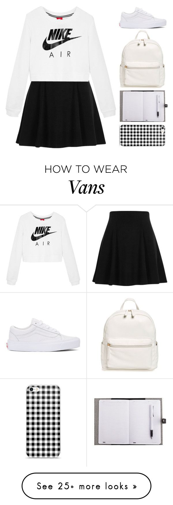 """Skippin' Class"" by zhafirahratu on Polyvore featuring River Island, NIKE, Vans and BP."