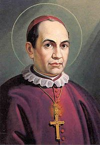 Saint Anthony Mary Claret patron of Textile Merchants, Weavers, Savings (taught the poor the importance of savings), Catholic press, Claretians Missionary Sons of the Immaculate Heart of Mary, Diocese of the Canary Islands , Claretian Students , Claretian Educators and Claretian Educational Institutions,Technical and Vocational Educators