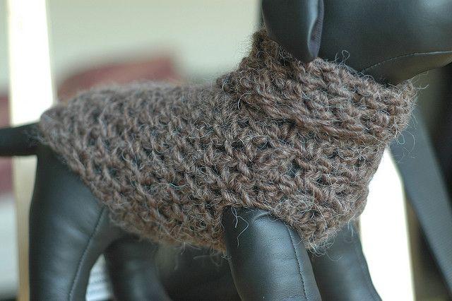 Ravelry: Crocheted Dog Sweater pattern by vahnee