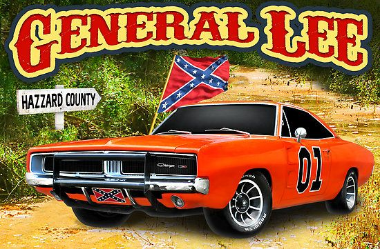 general lee | After the now-famous jump over Rosco P. Coltrane's police cruiser by ...