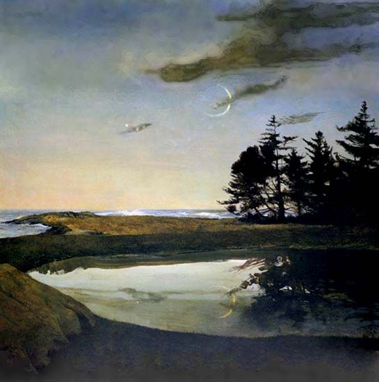 Jupiter by Andrew Wyeth