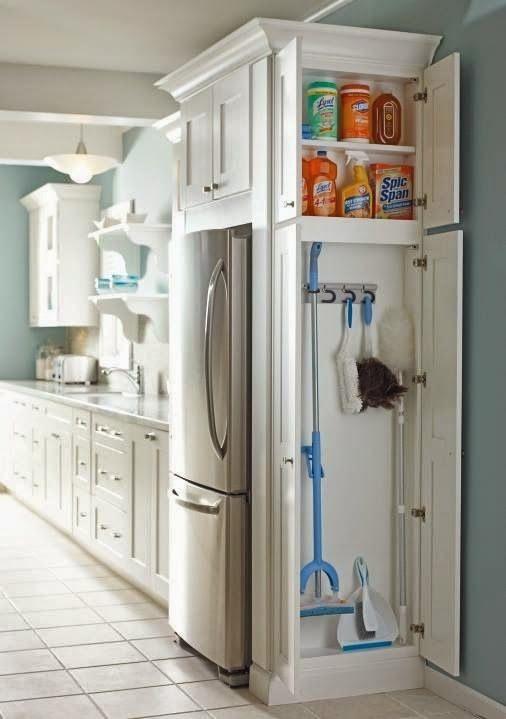 Ideas para almacenaje en cocinas pequeñas