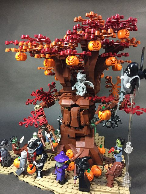 Halloween pumpkin party with treant | ZiO Chao | Flickr