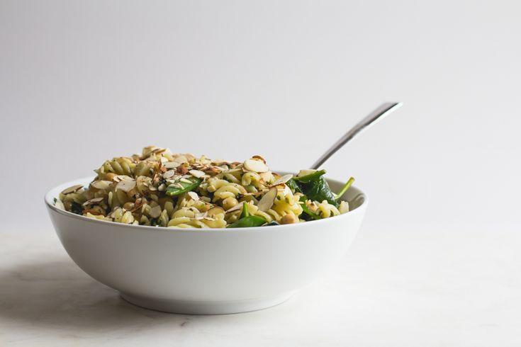 Warm Pasta Salad with Lemon + Herbs — Coffee + Crumbs