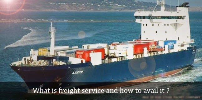 What is #freight_service and how to avail it?  Hiring #affordable_freight_services for the shipment of heavy goods is the smart step to avoid any kind of problem in future.