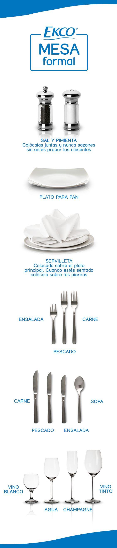¿Tienes una cena elegante? ¡Sigue mi #EkcoTip!