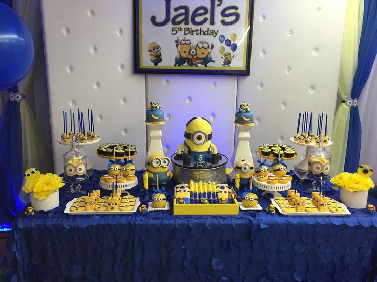 Minions Birthday Party Ideas | Photo 7 of 27