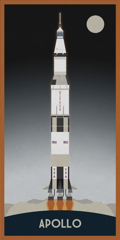 Apollo Saturn V Drawings - Pics about space