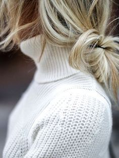 off-duty hair