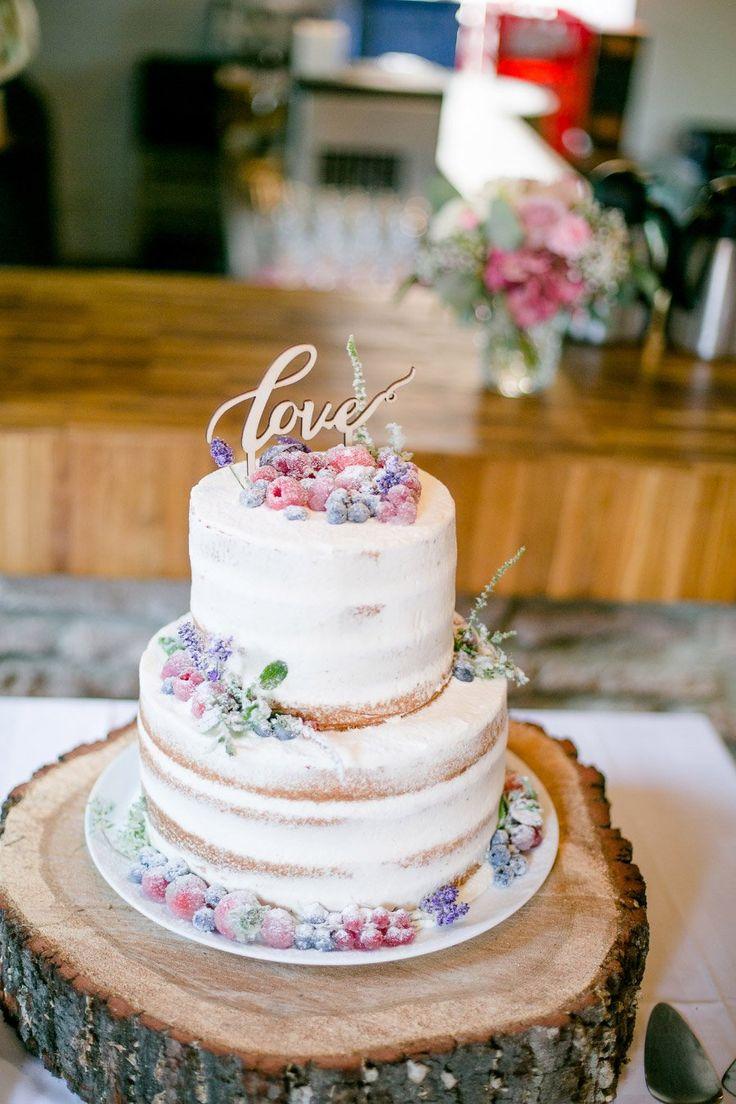 Kuchen für die Hochzeit ohne Fondant und Marzipan   – Hochzeitstorte vintage