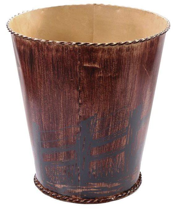 """""""Western Farmhouse"""" Waste Basket"""