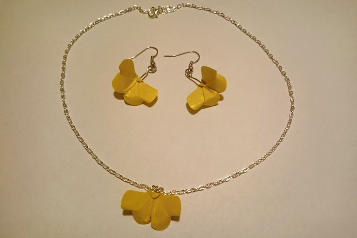 Yellow Butterfly Set