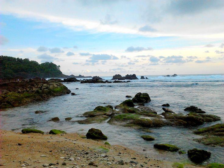 Wediombo Beach, Yogyakarta, Indonesia
