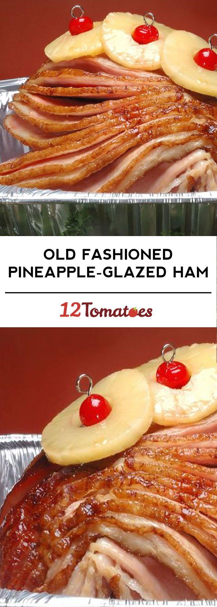 Old Fashioned Pineapple-Glazed Ham