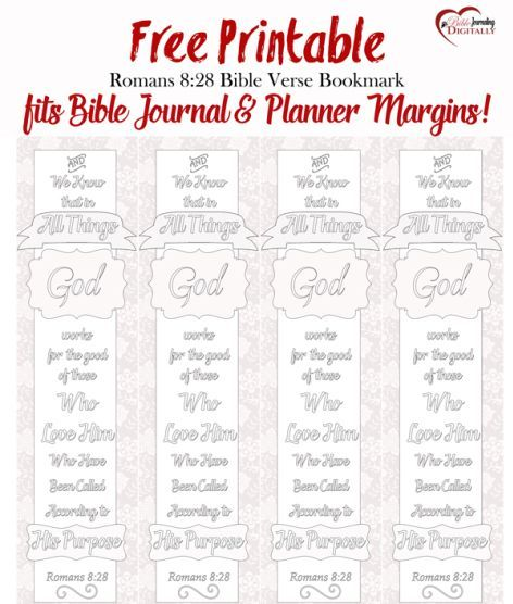 Free Coloring Bible Bookmark For Memory Or Bible