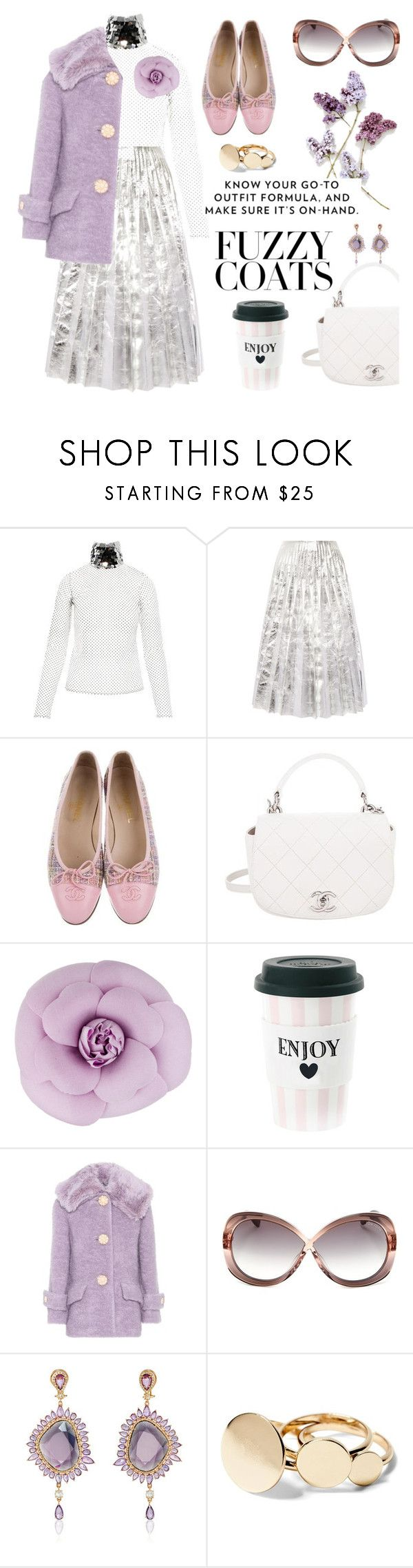 """""""fizz fuzz"""" by pensivepeacock ❤ liked on Polyvore featuring Anouki, Gucci, Chanel, Miss Étoile, Miu Miu and Tom Ford"""