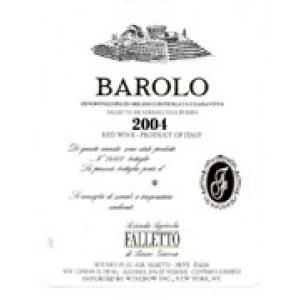 Barolo Falletto 2004 - Bruno Giacosa - Serralunga d'Alba, Italy - 91/100: perfumes direct and defined. First notes of green, then red fruit, a beautiful black cherry. Explodes with hints ferrous and blood, a lot of balsamic, licorice, cola. No wood. In the mouth wide attack, then emerge the well-defined and noble tannins which remain at the center of the tongue. Long, elegant. plays very well the character of Serralunga. Very long-lived. The next morning even vinous. Perfect cap. April 2011