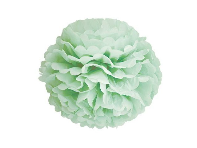 Pom Poms lys grønn - Congratulations
