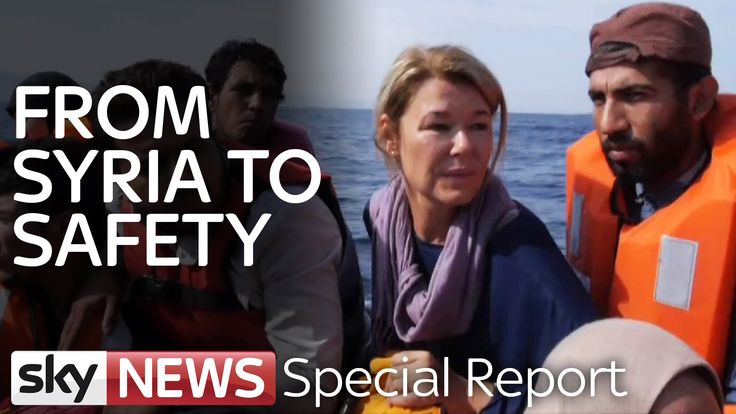 Joining Refugees On Perilous Boat Crossing | Special Report