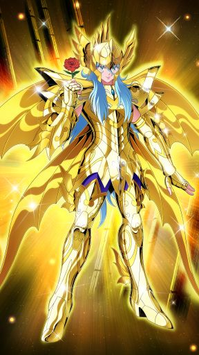 Pisces Aphordite (God Cloth) - Saint Seiya - ZB by FernanDohko