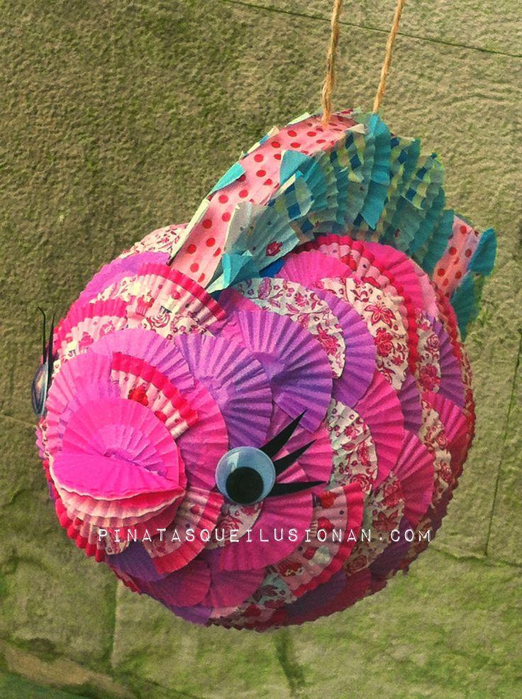 Piñatas que Ilusionan: Piñata Pez Maravilla