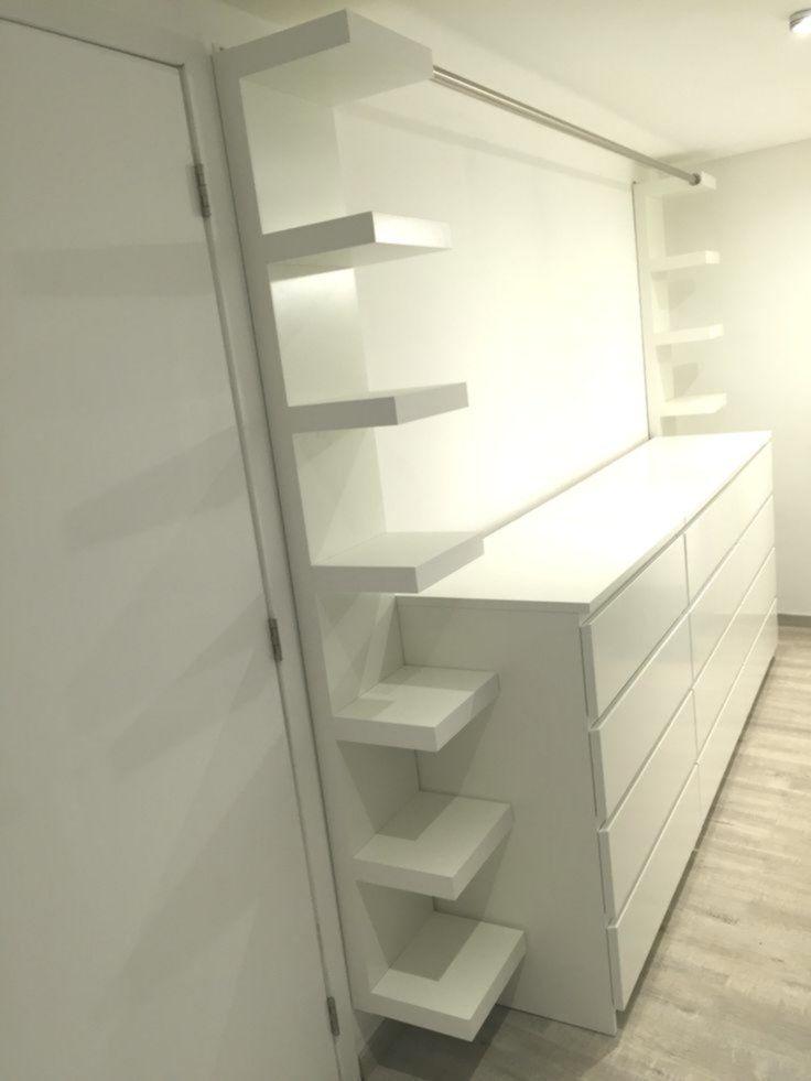 Ankleidezimmer Mit Drei Ikea Mobeln Malm Zwei Ikea Mobeln Mangel Und Einem Diy Ideen Ankleidezimme Ankleide Zimmer Ankleidezimmer Ankleideraum Design