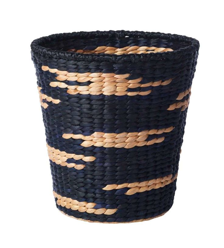A craftsman for Ikea wove the Viktigt Basket of water hyacinth into a size ideal for collecting just about anything in classy form: toys, laundry, recycling in the office, shoes by the door and more