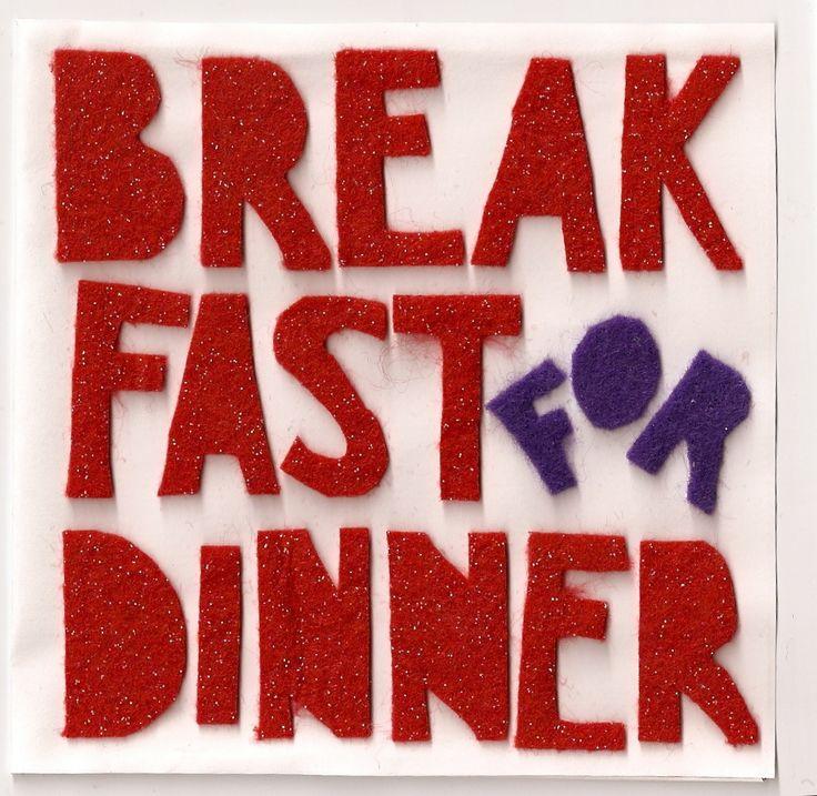 Brinner (breakfast & dinner), un brunch servito di sera, un mix tra le ricette della colazione British e una cena italiana informale e (meglio) in piedi, con servizio buffet.
