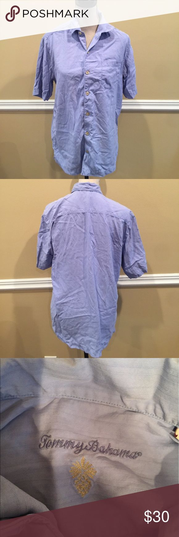 Tommy Bahama Men's Shirt Size Small VERY GOOD CONDITION!!!100% silk short sleeve button down. Size Small.🎈Make an offer 🎈accepts most offers Tommy Bahama Shirts Casual Button Down Shirts