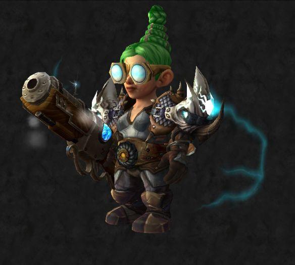 Steampunk Gnome - Ready for Legion! #Mail #transmog