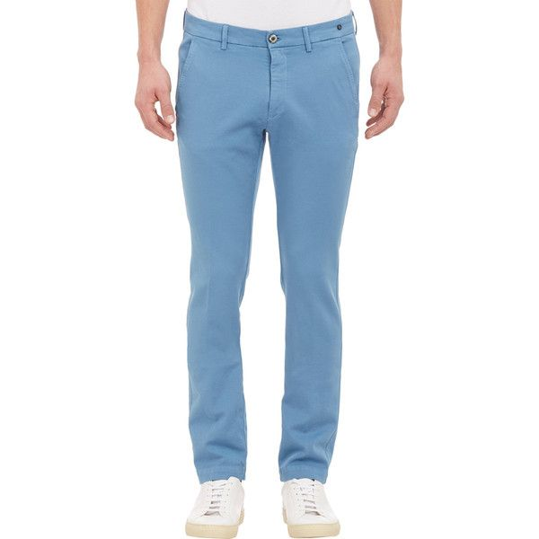 Mason's Men's Chino Torino Trousers ($119) ❤ liked on Polyvore featuring men's fashion, men's clothing, men's pants, men's casual pants, blue, mens flat front dress pants, mens 5 pocket pants, mens blue pants, mens chino pants and mens blue chino pants
