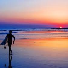 Sunset in beautiful Durbs
