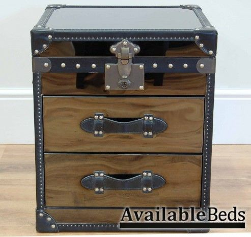 High Quality My Furniture   Hemingway Mirrored Trunk / Bedside Table / Cabinet