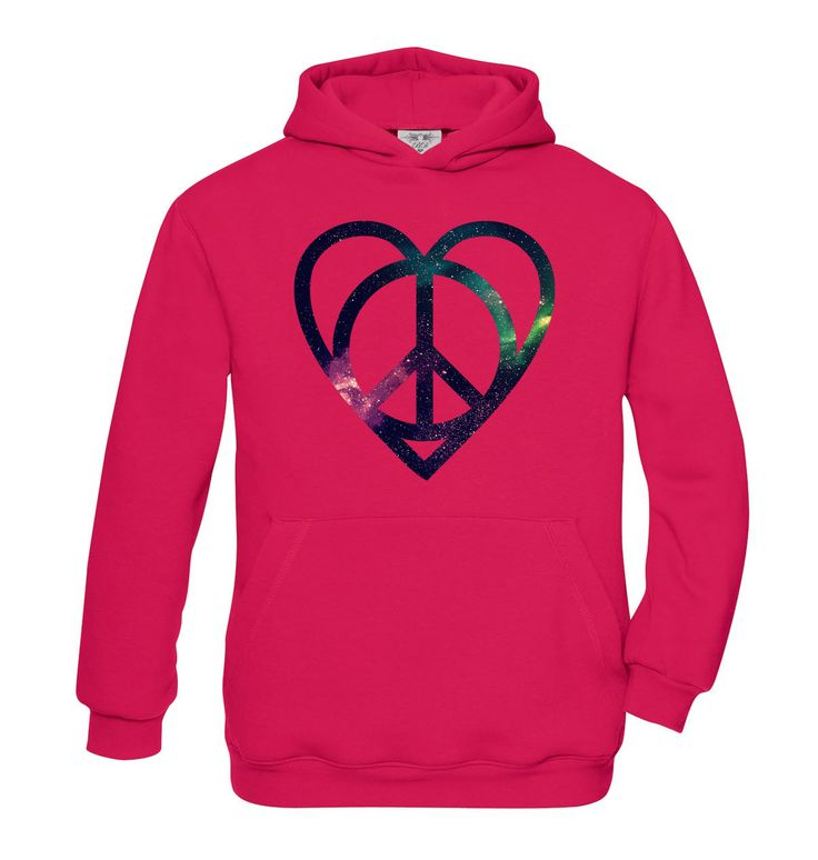 Peace�n�Love girls hoodie