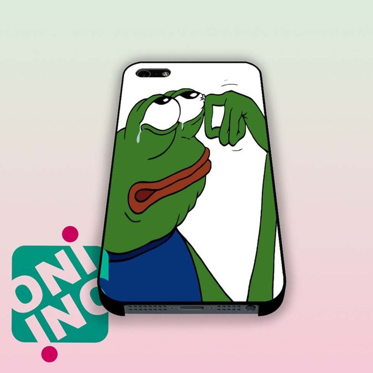 Pepe The Frog Crying iPhone Case Cover | iPhone 4s | iPhone 5s | iPhone 5c | iPhone 6 | iPhone 6 Plus | Samsung Galaxy S3 | Samsung Galaxy S4 | Samsung Galaxy S5 its only $9.00