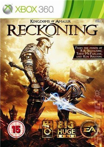 Kingdoms of Amalur: Reckoning. Great RPG that tops Skyrim, in my opinion.
