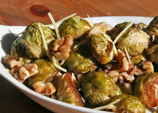 Healthy Brussels Sprouts Recipe almond slivers or pine nuts