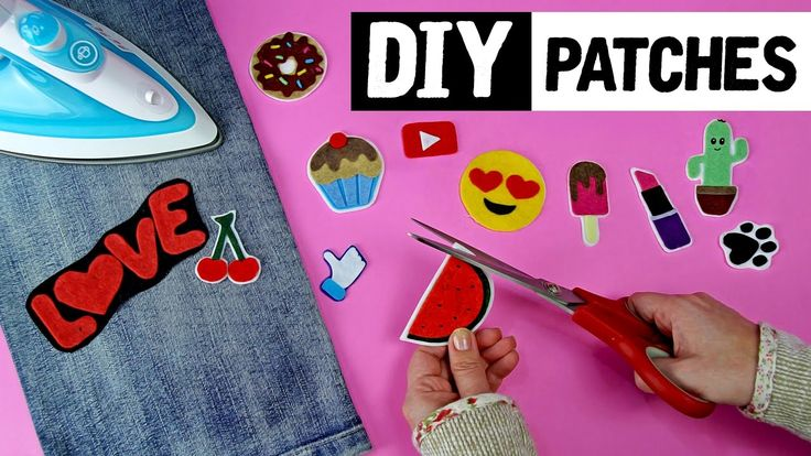 DIY - Como fazer PATCHES CASEIROS 😍