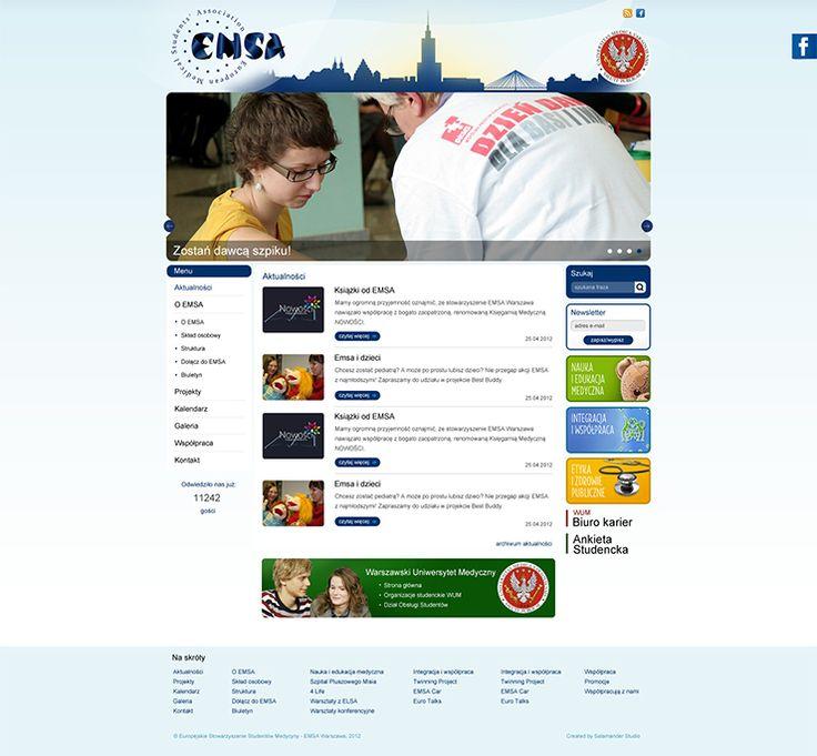 EMSA Warszawa - Webdesign