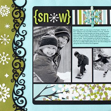Snowboarding digital scrapbook Layout ✿Join 1,300 others and Follow the Scrapbook Pages board. Visit GrannyEnchanted.Com for thousands of digital scrapbook freebies. ✿